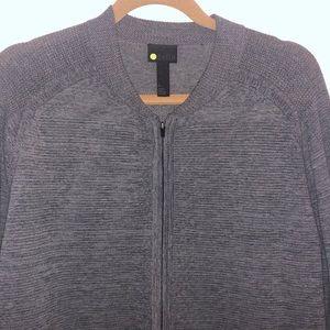 Zella men's grey zip up